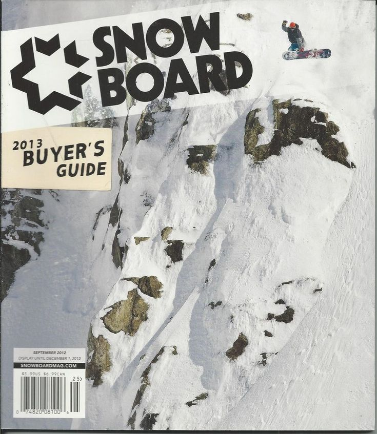 Snowboard magazine Buyers guide Boards Sunglasses Boots Outerwear Brands | Books, Magazine Back Issues | eBay!
