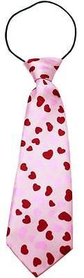 Valentines Day Hearts Big Dog Neck Tie Dog Costume Pet Puppy Tie Collar