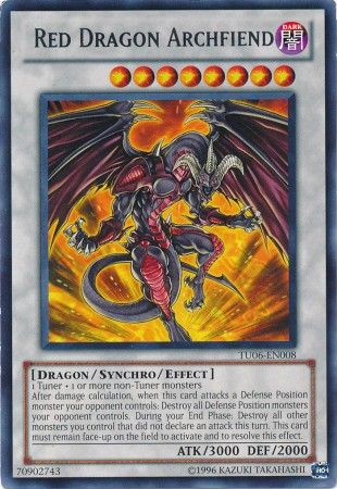Red Dragon Archfiend YUGIOH CARD
