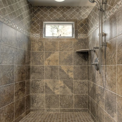 Best Tile Shower Images On Pinterest Bathroom Ideas Bathroom