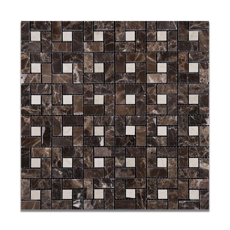 Dark Tile Master Bathroom: 108 Best PINWHEEL TILE PATTERN Images On Pinterest