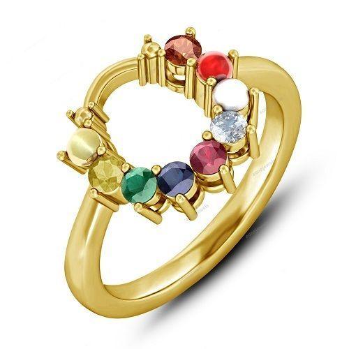 13 best Women s Navratna Ring images on Pinterest