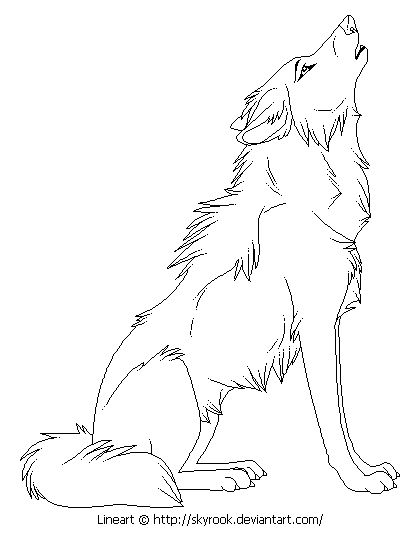coloring pages anime wolfs anime wolf coloring pages wolves