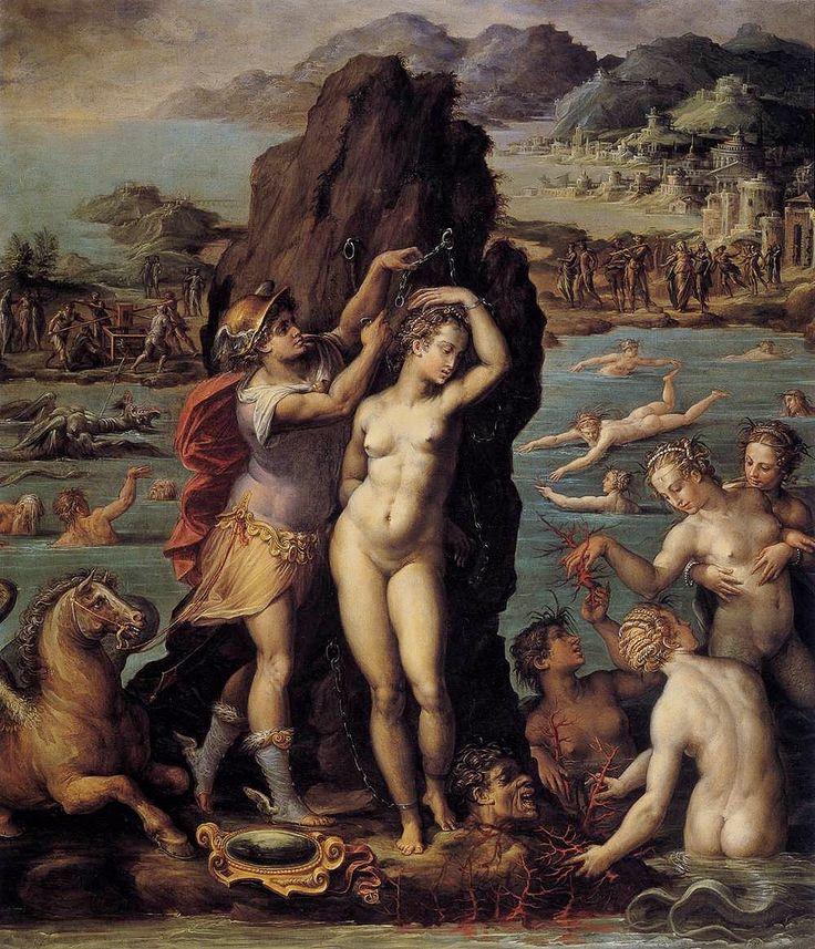 Perseus and Andromeda. 1570-1572. Giorgio Vasari.