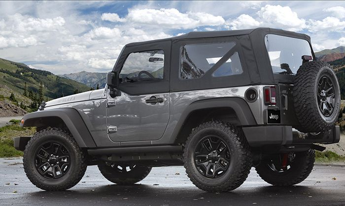 2019 Jeep Wrangler JL side