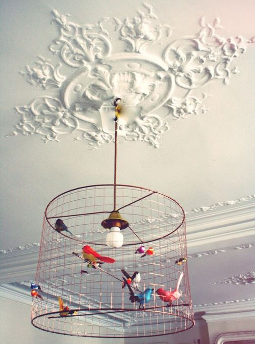 this is so cool. would love to do this to our dining room fixture!