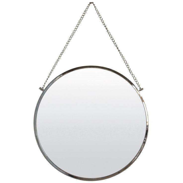 Bolina speil fra House Doctor. Et rundt speil som passer utmerket som ekstra speil på badet ell...