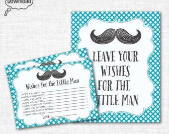 Mustache baby shower | Etsy