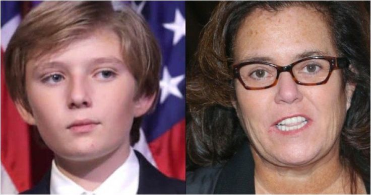 Rosie O'Donnell hates Donald Trump and has been triggered by his big presidential win, so the classless actress and all around nasty woman decided to go after Trump's son Barron last week. Then, she doubled down in another recent statement. However, while Rosie attacks 10-year-old Barron, she's got far bigger problems closer to home, and you'll be shocked at the one sick thing she did while ignoring her own hypocritical issues.