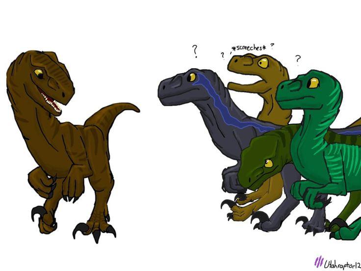 Raptor!Owen (Request) by Utahraptor12 on DeviantArt | Isla ...