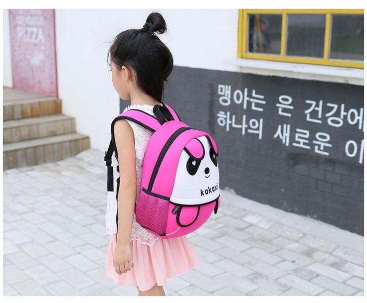 cute cartoon Neoprene other Children bag (Big red)NHKX0001-Big red