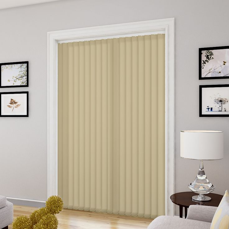 how to make vertical blinds