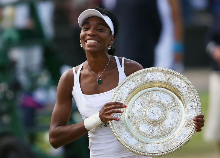 June 17, 1980 Venus Williams born in Lynwood, CA, learned to play tennis on the public courts of Los Angeles. After turning professional in 1994, she won seven Grand Slam titles and an Olympic gold medal in singles play. She also teamed up with sister Serena to win several doubles championships, boosting her victory total even after being diagnosed with an autoimmune disease in 2011.