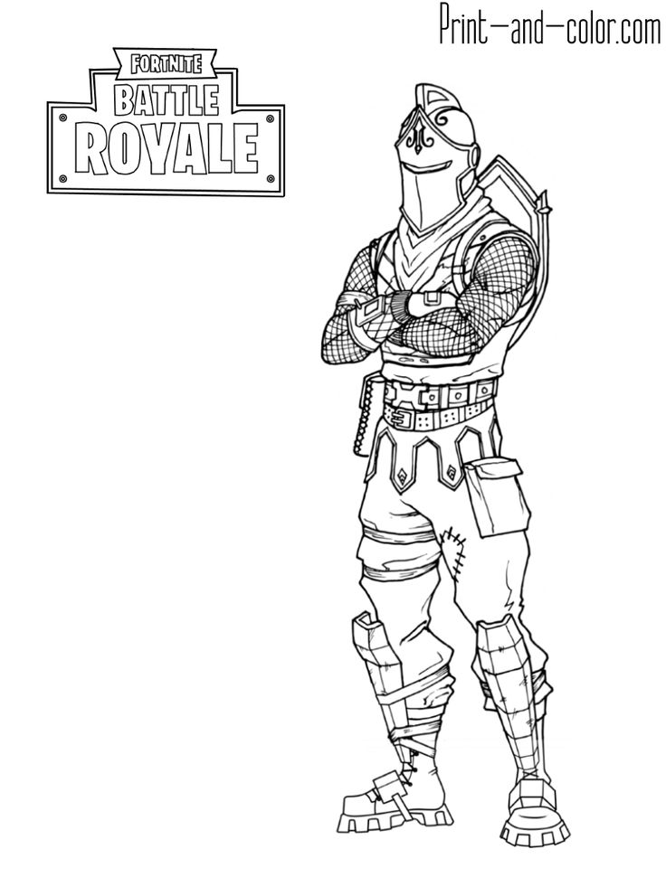 Fortnite Coloring Pages Print And Color Com Coloriage