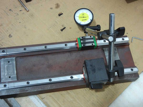 Linear rail alignment. How to build a CNC machine from the very beginning to the end - Page 7