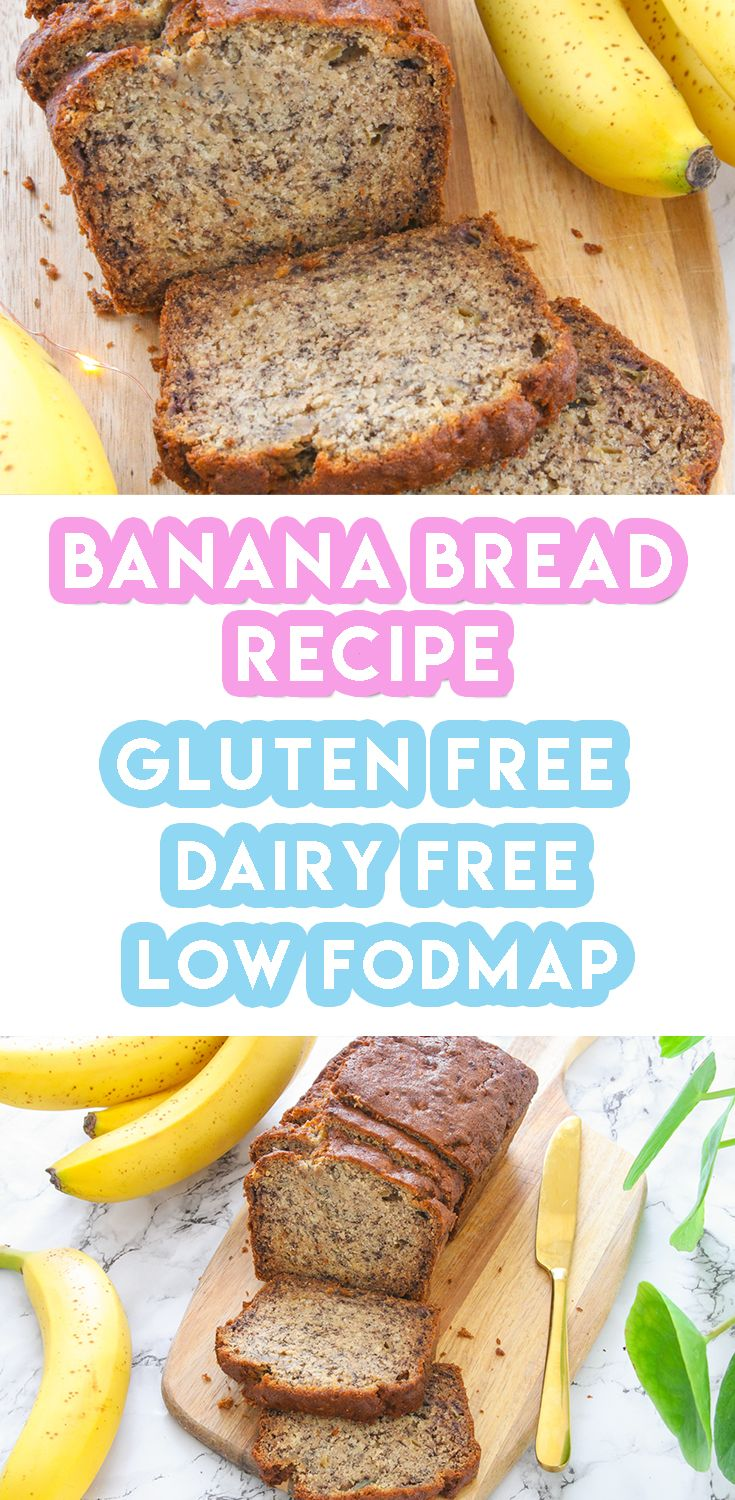 Gluten Free Banana Bread Recipe Best Ever Only 6 Ingredients Recipe Dairy Free Bread Gluten Free Banana Bread Recipe Gluten Free Banana Bread
