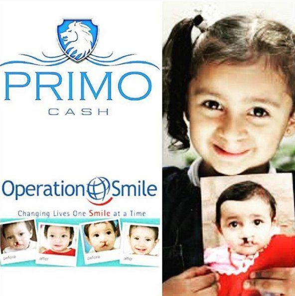 (66) Tw¡Grandes noticas de Operation Smile y WCMQ! Primo Cash esta orgulloso por ser patrocinadores de oro para la operacion sonrisa... Escucha este Marzo 1 para unirte a nuestra campaña de Sonrisas para Niños. Dona ahora aquí para ayudar a estos pequeños que necesitan de tu ayuda ►http://bit.ly/OperationSMZ923FM @z92miami @957miami itter