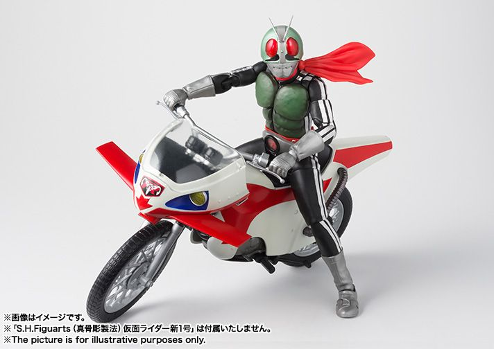 FROM JAPAN S.H.Figuarts Kamen Rider New Cyclone Action Figure Bandai