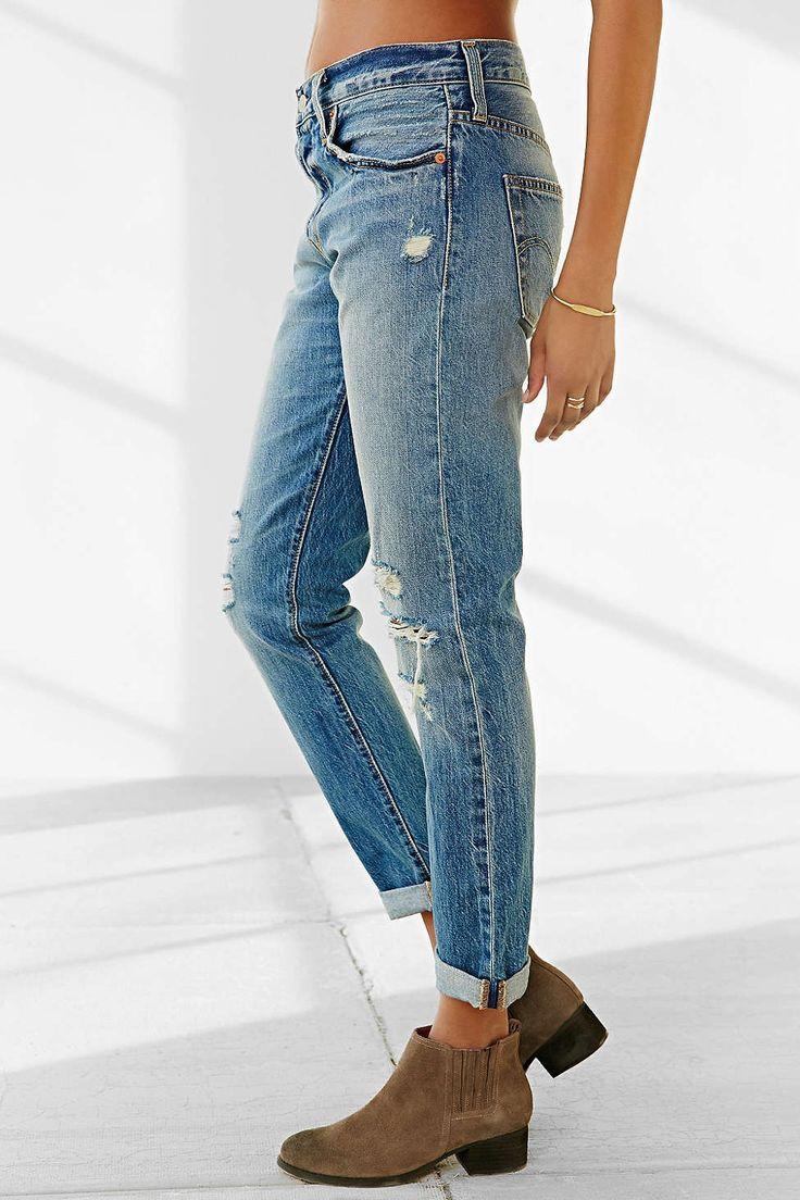 Levis 501 Customized Jean - Precita - Urban Outfitters