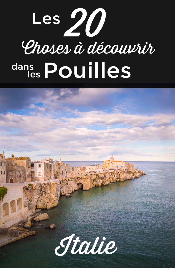 Visiter Les Pouilles Top 20 Des Choses A Faire Et A Voir Voyage Italie Visiter Les Pouilles Pouilles Voyage Italie