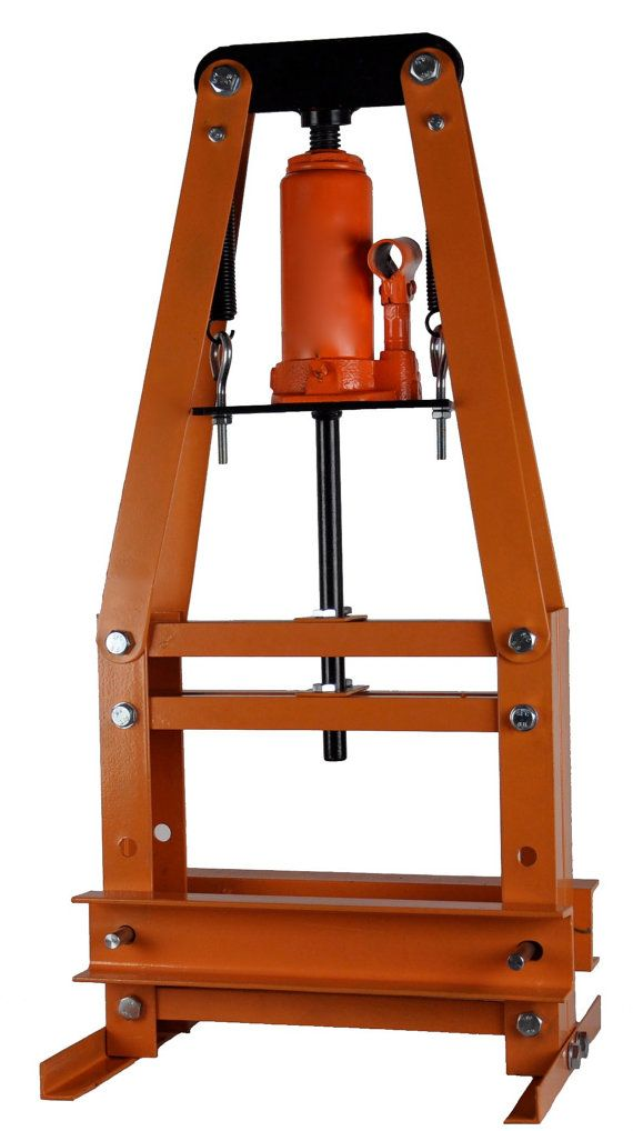 6 Ton Hydraulic Jewelers Hand Stamp Impact Press by PMCSupplies