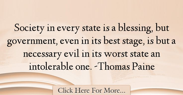 Thomas Paine Quotes About Government - 29901