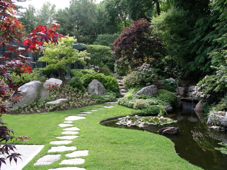 Asian Inspired Landscaping Ideas   Our post on our residential project in Brookline, Mass. Has been one ...