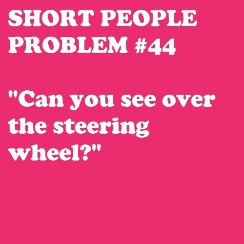 Short People Problems | Short _Girl_ Problems