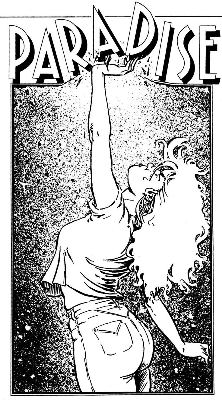 Terry Moore _ 1st SiP poster, 1993