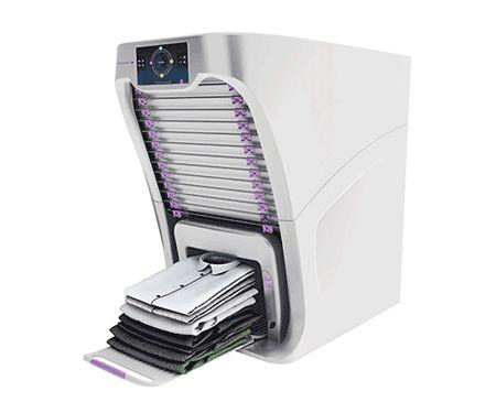 FoldiMate: the machine automatically folding clothes. - YouTube
