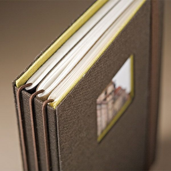 kolo travel journal - love the idea of mini books inside that you could carry around with you each day