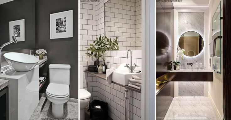 How To Maximise Space In Your Downstairs Loo | sheerluxe.com