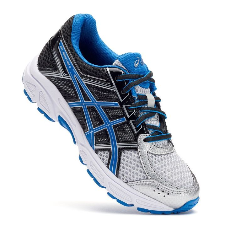 ASICS GEL-Contend 4 Grade School Boys' Running Shoes, Size: 3 Wide, Grey Other