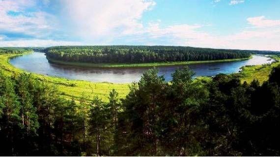 Nature park Daugavas loki   #MyWorldOfActivities