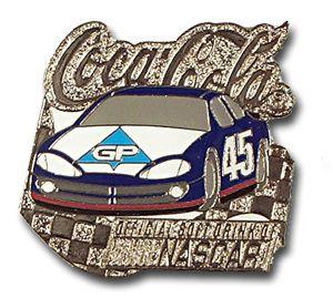 Kyle Petty #45 Car Pin