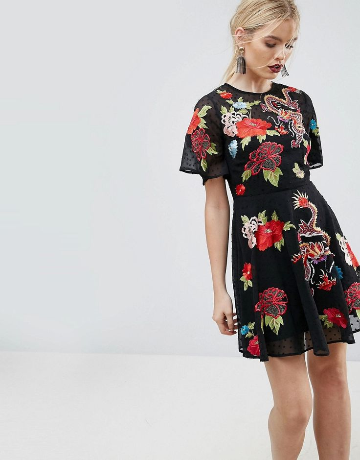 Buckle Detail Dungaree Midi Slip Dress - Dark grey Asos Reliable Enjoy Sale Online Sale Shop For efmxRBl5hE