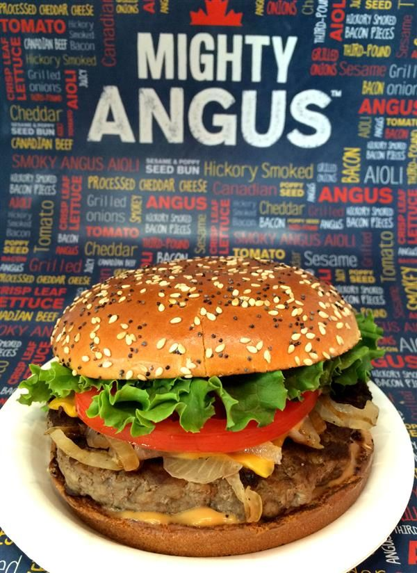 McDonald's Mighty Angus Burger enjoy this copycat recipe when you make it from scratch.