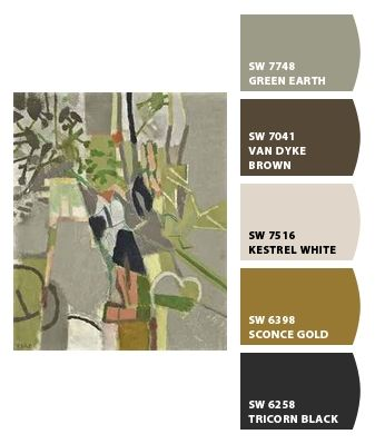 Perfect wall/accent colors for a spanishy-rustic home <3