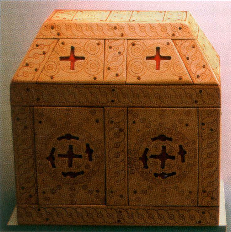 Reliquary casket from Oldenburg/Starigrad, around 1066 AD