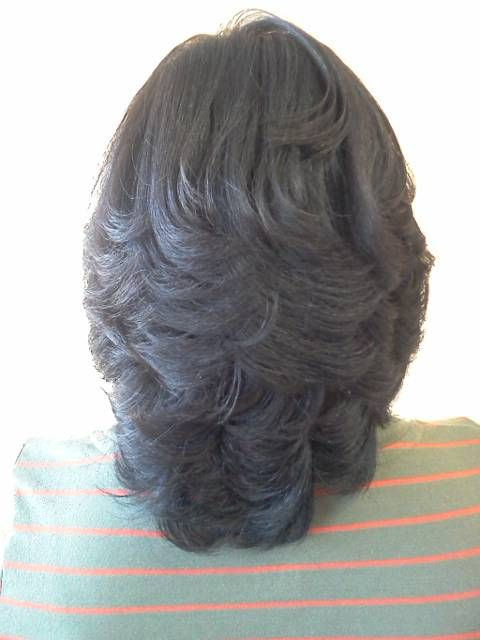 african american layered