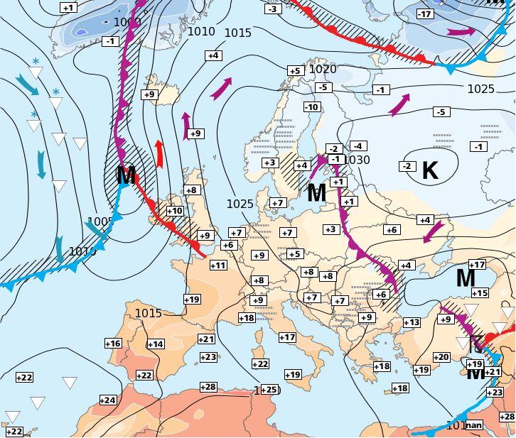 21.11.2014 European Weather Forecast