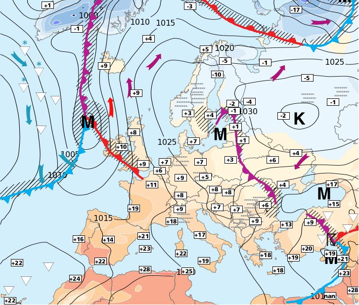 21.11.2014 European Weather Forecast