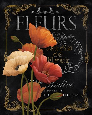 Fleurs by Abby White ~ floral art