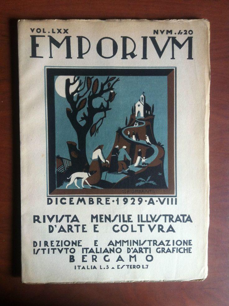 Emporium Vol LXX n° 420 Dicembre 1929 - E15384