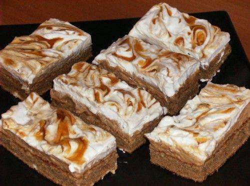 Bámulatos krémes karamellszelet! Mindenkit elcsábít ez az édes finomság! - Ketkes.com