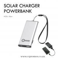 Solar Charger PowerBank www.ccpromos.co.za