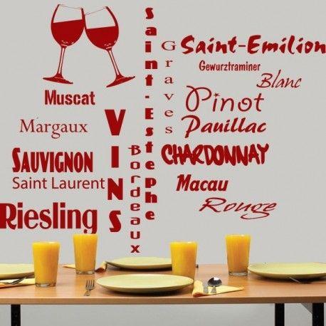 Sticker des grands vins français
