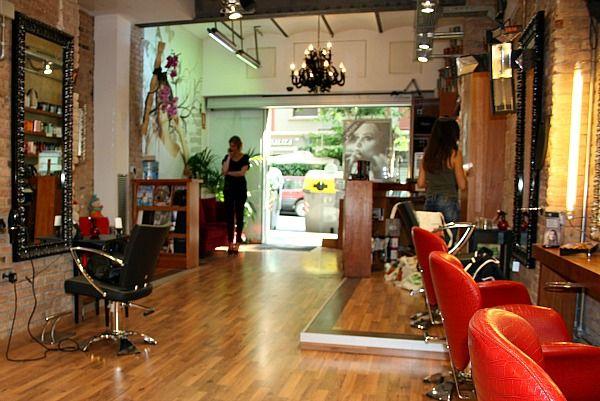 17 mejores im genes sobre peluqueria en pinterest silla - Peluquerias con estilo ...