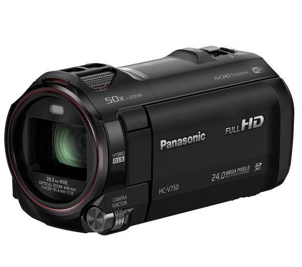 Connessa e polivalente, la videocamera HC-V750 di Panasonic registra bellissimi video Full HD su scheda di memoria SD/SDHC/SDXC.