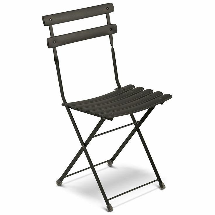 Arc En Ciel Folding Chair, Black - EMU - EMU - RoyalDesign.com #emu #royaldesign